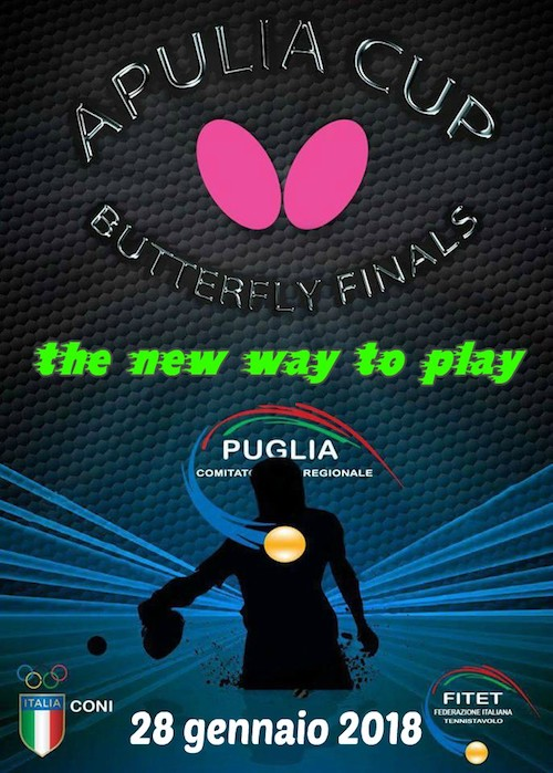 Apulia Cup: the new way to play