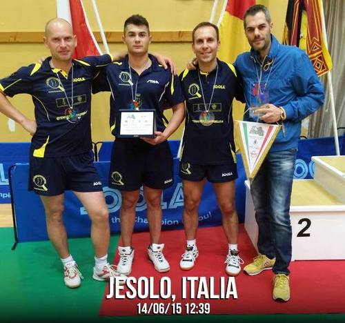 Final Four European Table Tennis Intercup – Jesolo 2015